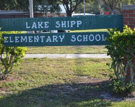 Lake shipp sign